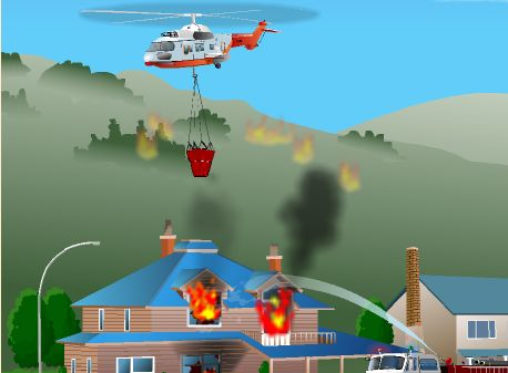 Helicptero Bombero  Juegos de aviones  Helicpteros